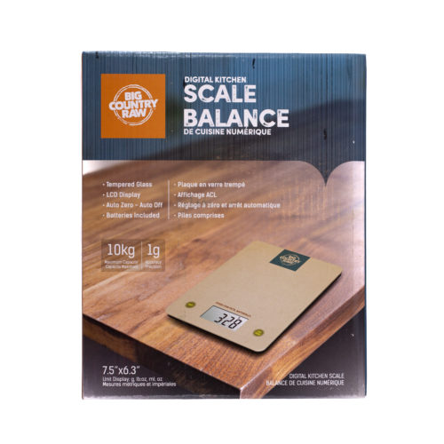 Big Country Raw Kitchen Scale