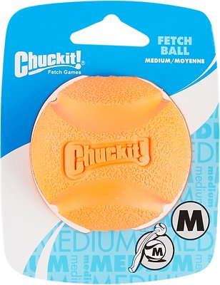 Chuckit! Fetch Ball Dog Toy, Color Varies, Medium, Original