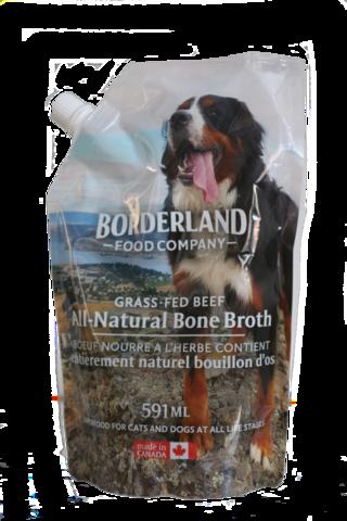 Borderland Bone Broth Beef, 591-ml