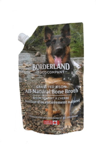 Borderland Bone Broth Bison, 591-ml