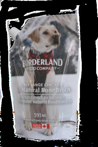 Borderland Bone Broth Chicken, 591-ml