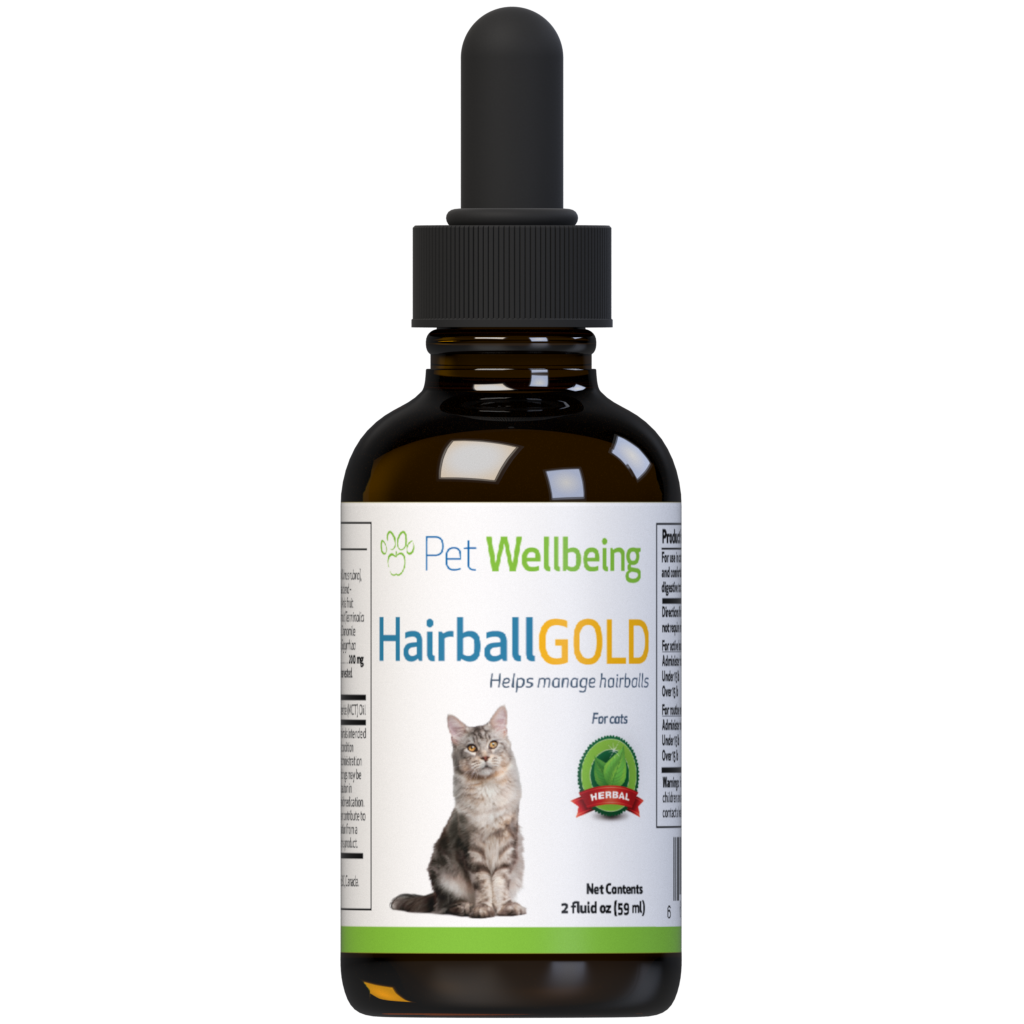 Pet Wellbeing Hairball Gold, 2-oz