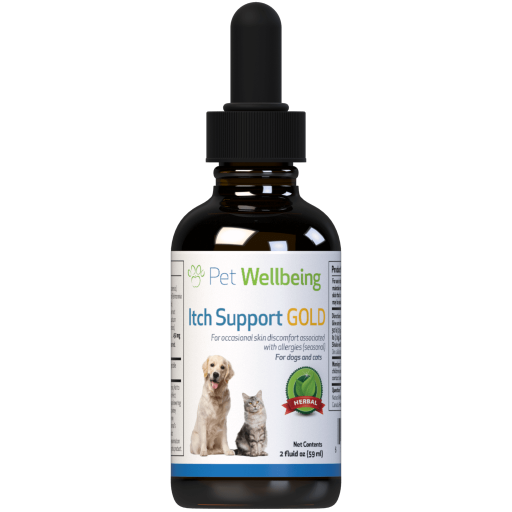 Pet Wellbeing Itch Support Gold, 2-oz