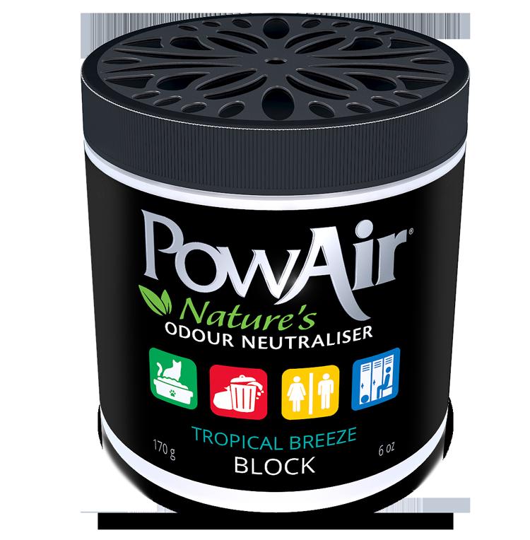 Powair Odour Rem Tropical Block, 170-g