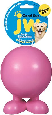 JW Pet Good Cuz Dog Toy, Color Varies, Large