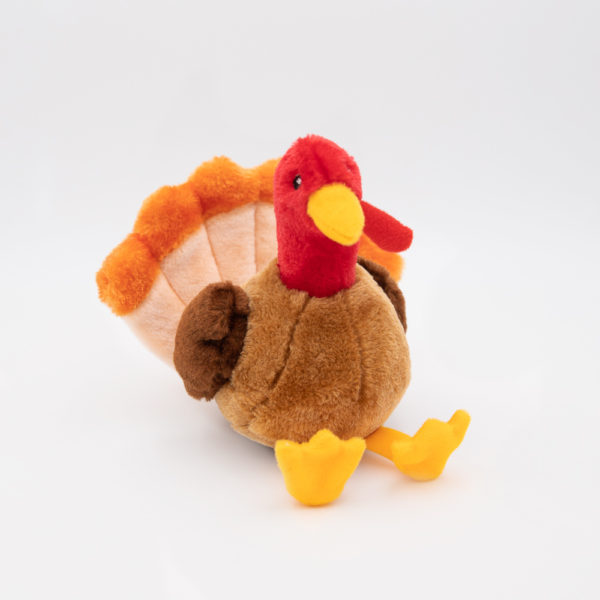 Zippy Paws Tucker the Turkey Dog Toy