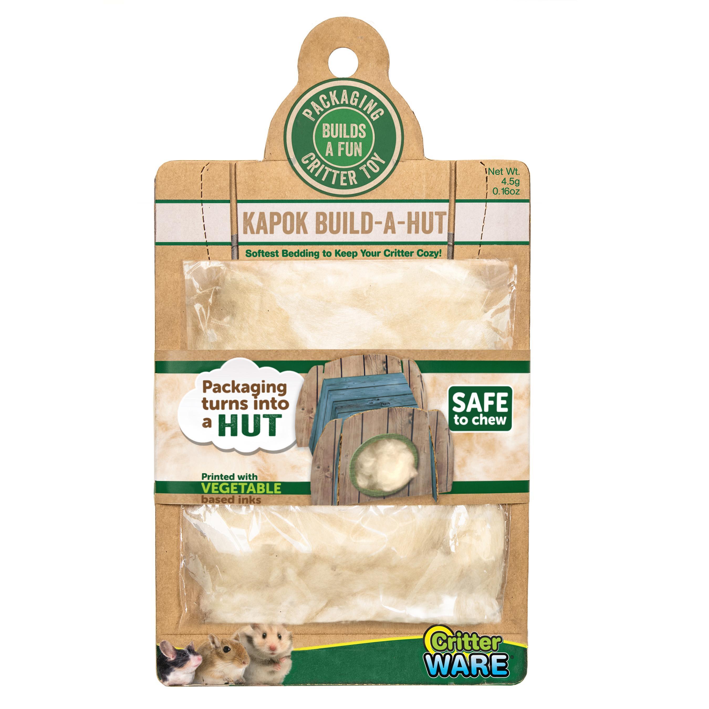 Ware Kapok Build-A-Hut Small Animal Bedding