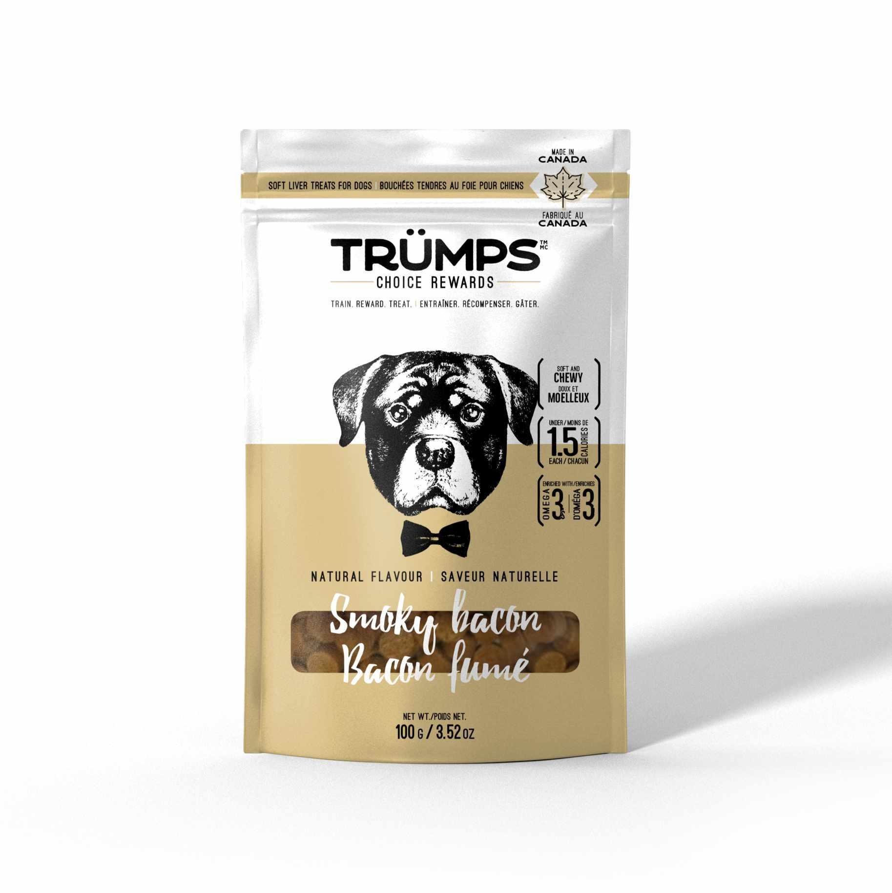 Spark Pet Trumps Natural Smoky Bacon Dog Treats Image