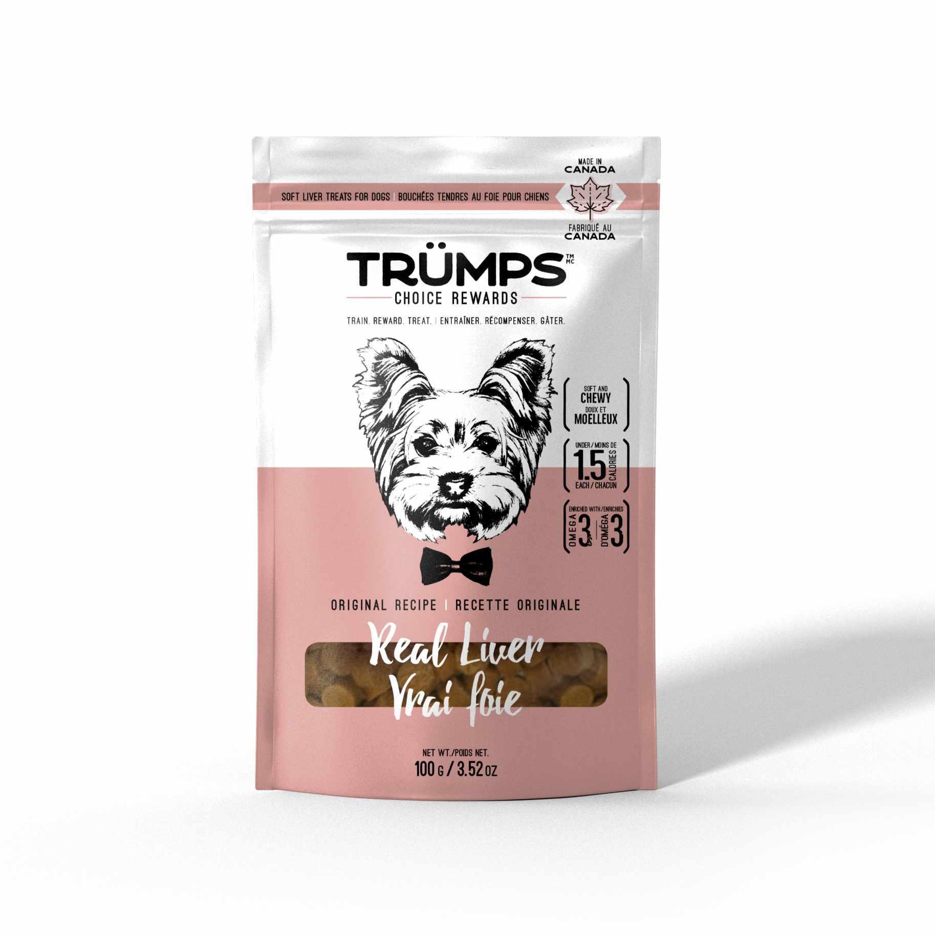 Spark Pet Trumps Real Liver Dog Treats Image