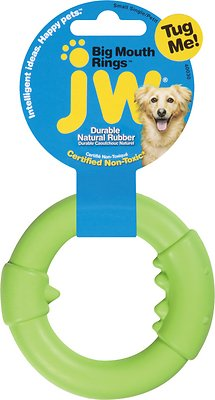 JW Pet Big Mouth Single Ring Dog Toy, Small