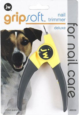 JW Pet Gripsoft Deluxe Dog Nail Trimmer, Deluxe