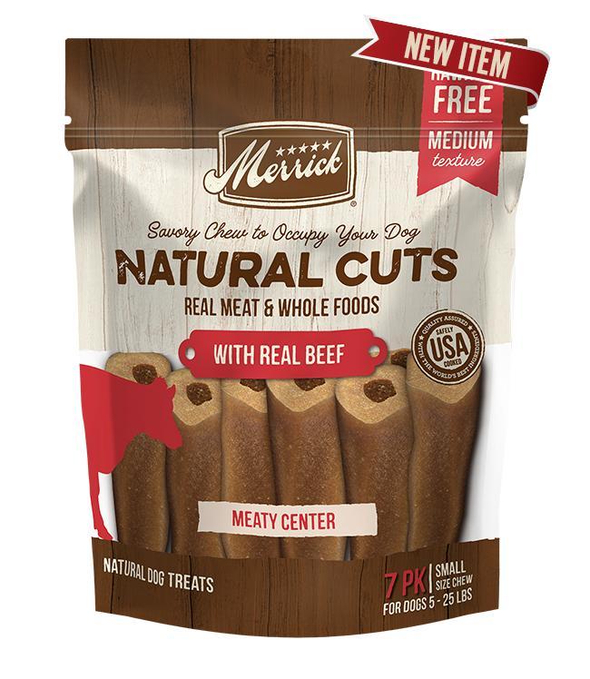Merrick Natural Cuts Beef Dog Treats Image