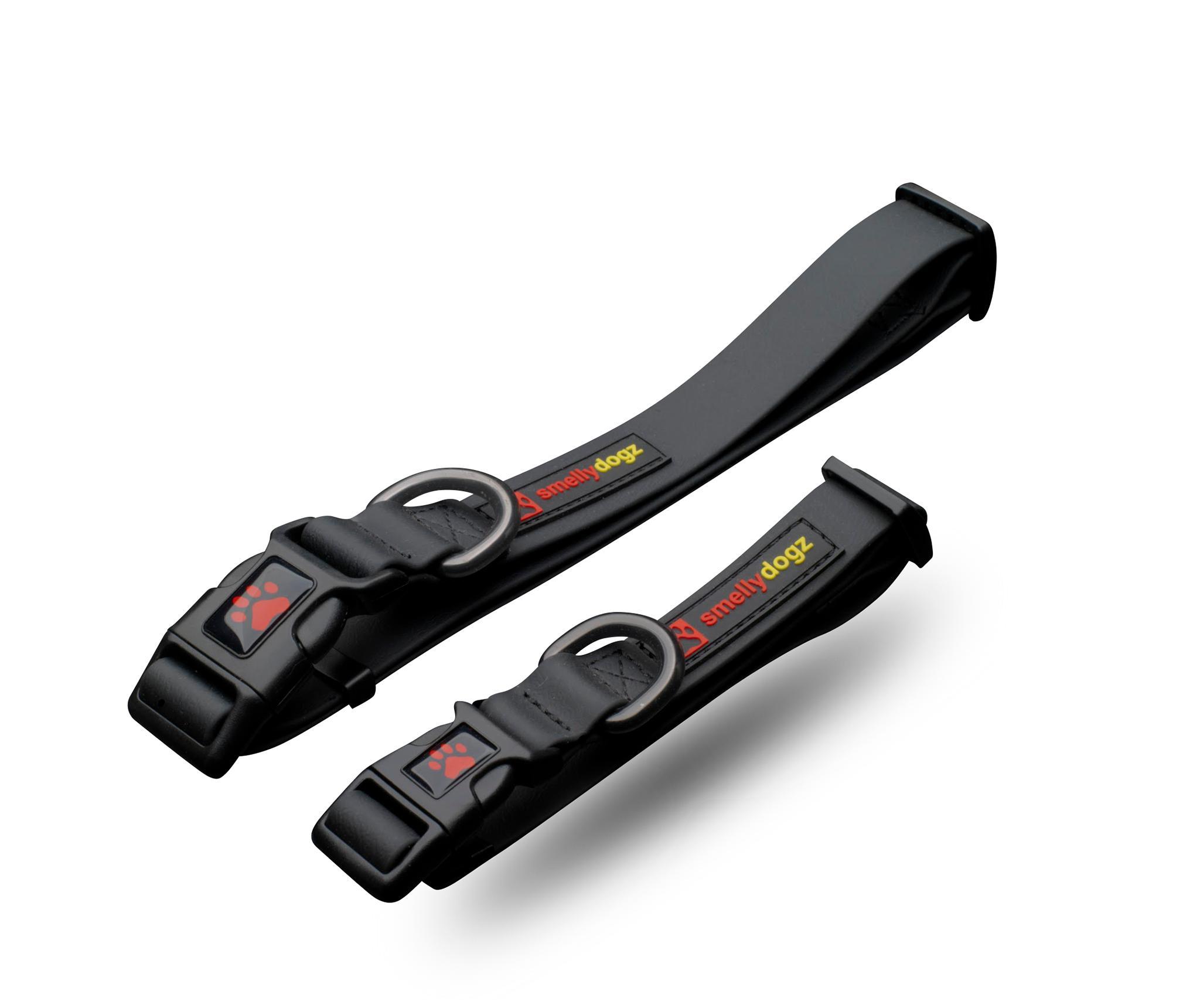 Smelly Dogz Adjustable Comfort Dog Collar, Black Image