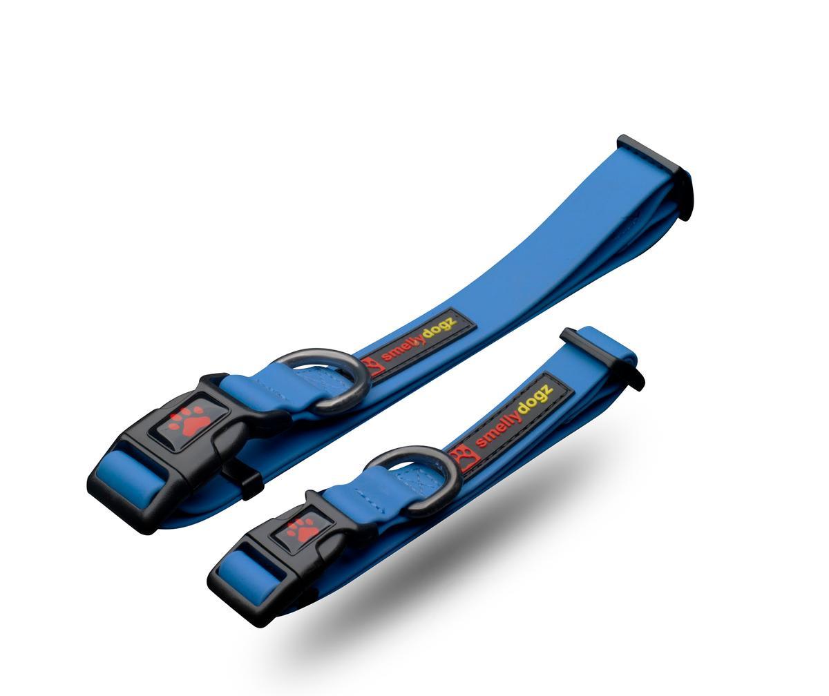 Smelly Dogz Adjustable Comfort Dog Collar, Blue Image