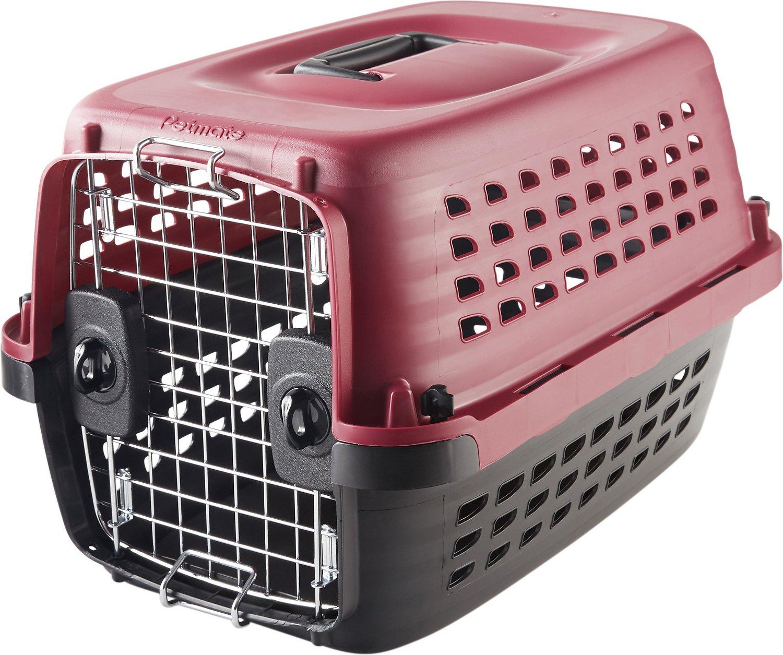 Petmate Compass Fashion Kennel, Pink Image