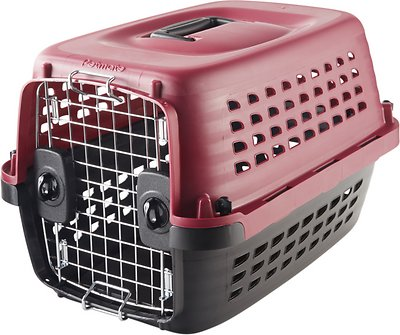 Petmate Compass Fashion Kennel, Pink, Small