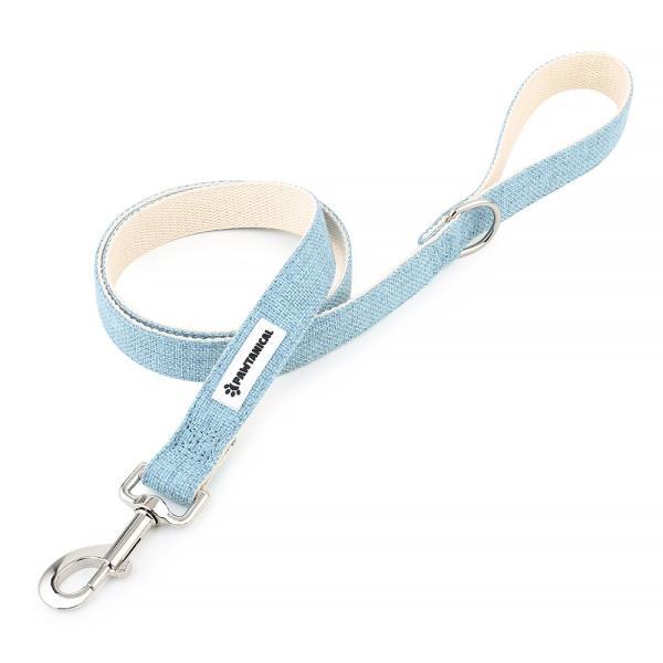 Pawtanical Dog Leash, Lake Blue Image