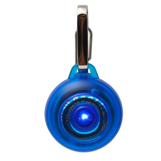 Rogz Roglite Dog Collar, Blue