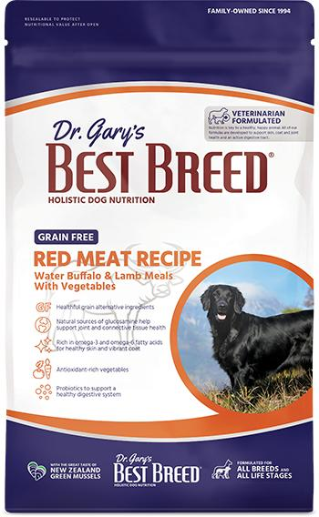 Dr. Gary's Best Breed Dog Red Meat Grain-Free Dry Dog Food, 26-lb