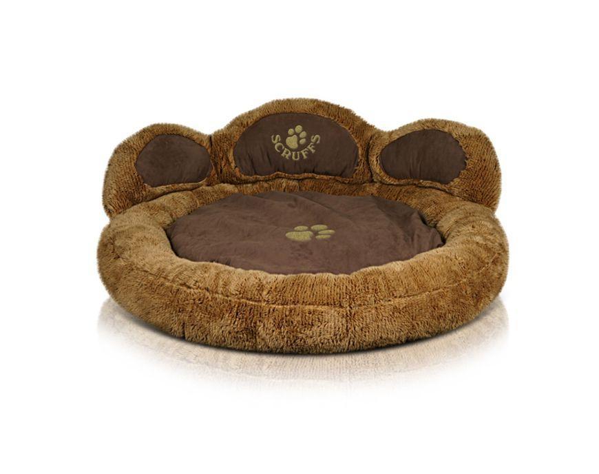Scruffs Cub Bear Dog Bed, Tan Image