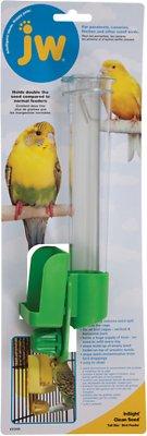 JW Pet Clean Seed Silo Bird Feeder, Tall