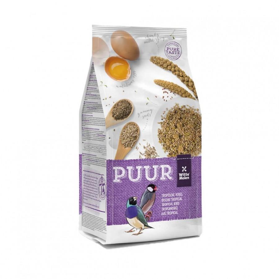 Witte Molen PUUR Gourmet Seed Mix Tropical Bird Food, 750-gram