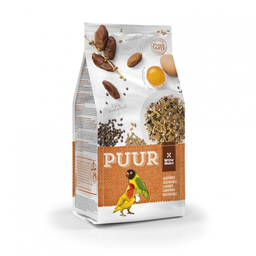 Witte Molen PUUR Gourmet Seed Mix Lovebird Bird Food, 750-gram