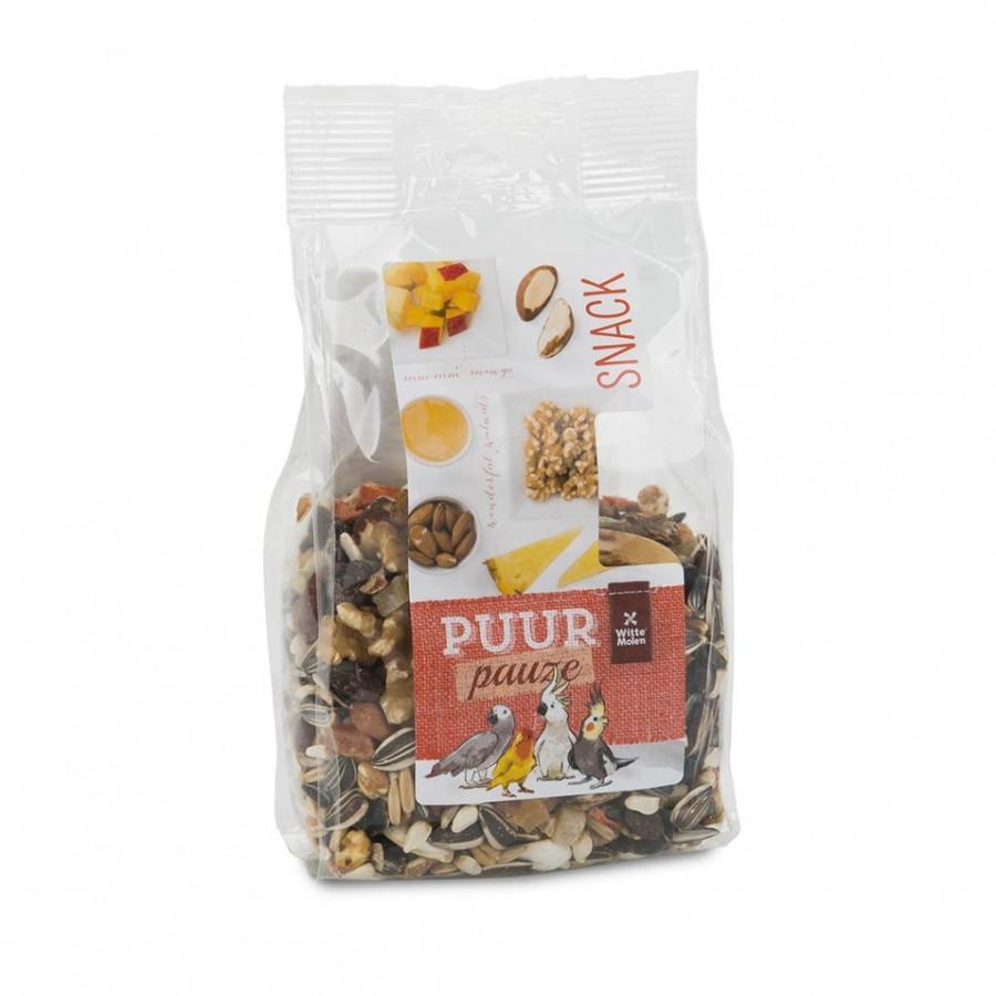 Witte Molen PUUR Pauze Snack Mix Nuts & Fruits Large Bird Treats Image