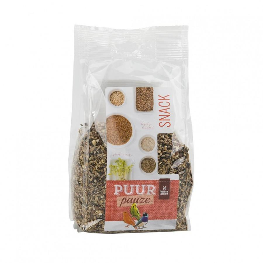 Witte Molen PUUR Pauze Snack Mix Wild Seed Small Bird Treats, 250-gram
