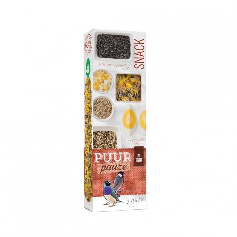 Witte Molen PUUR Pauze Seed Sticks Wild Seeds & Egg Tropical Bird Treats Image