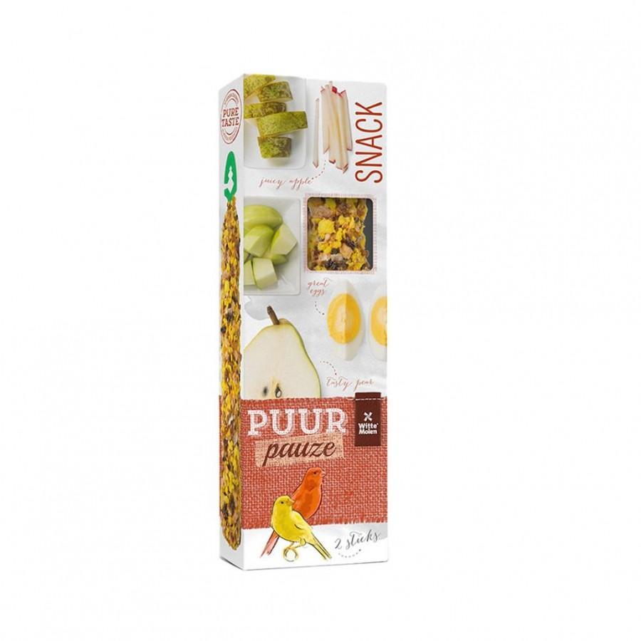 Witte Molen PUUR Pauze Seed Sticks Fruit & Egg Canary Bird Treats Image