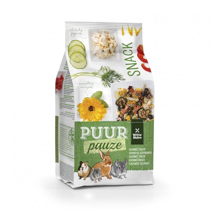 Witte Molen PUUR Pauze Muesli Appetizer Small Animal Treats, 700-gram