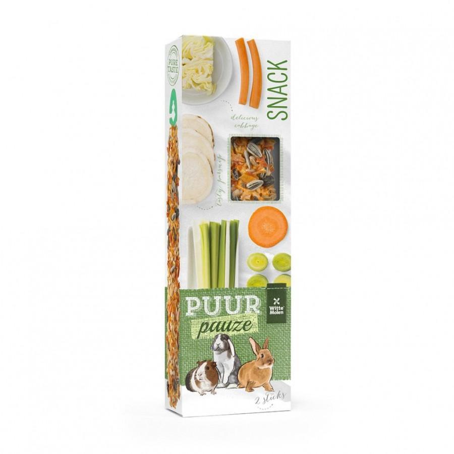 Witte Molen PUUR Pauze Sticks Vegetables Small Animal Treats Image