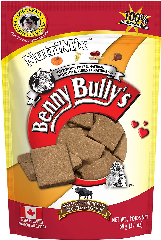Benny Bully's NutriMix Beef Liver Dog Treats
