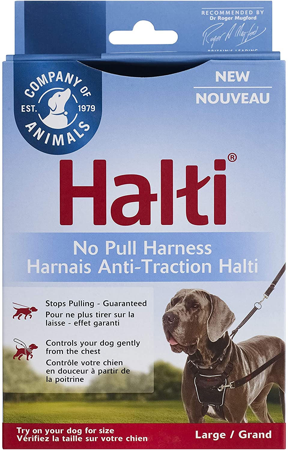 The Company of Animals Halti No Pull Harness, Large