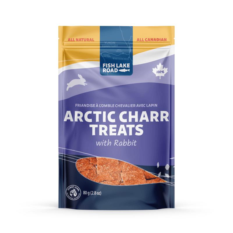 Fish Lake Arctic Charr & Rabbit Dog Treats, 80-g