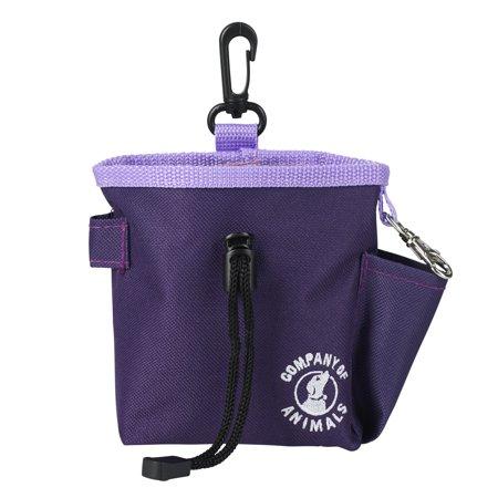 The Company of Animals Clix Treat Bag, Purple Image