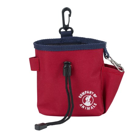 The Company of Animals Clix Treat Bag, Red