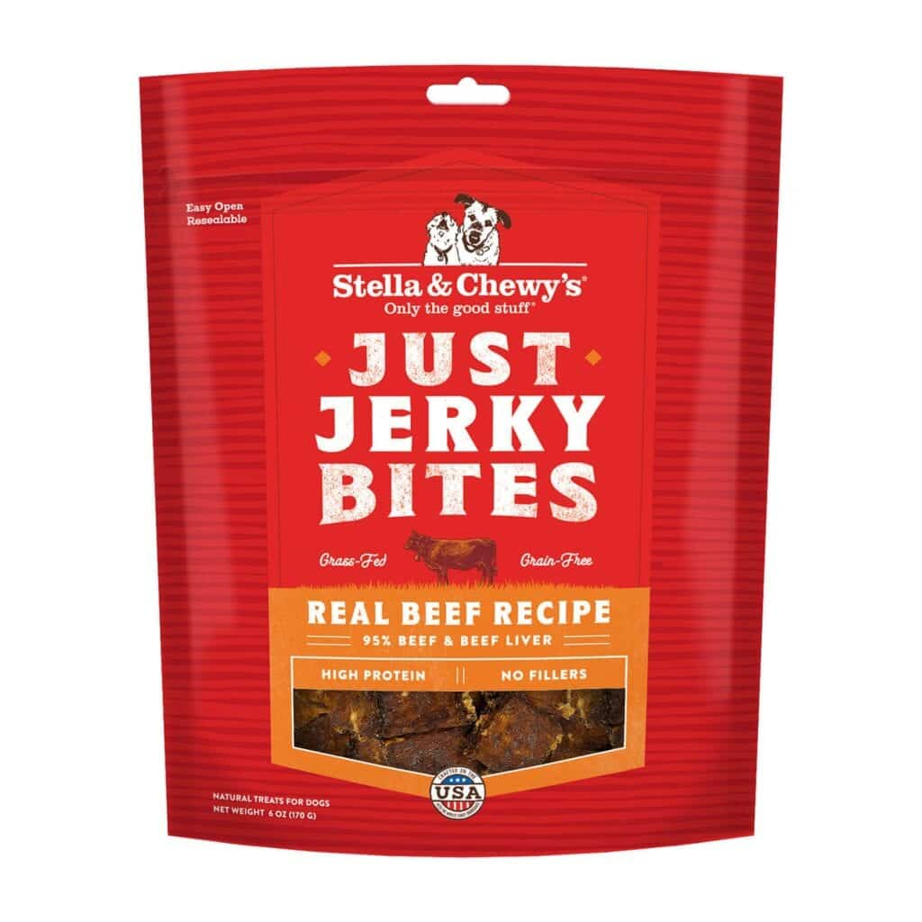 Stella & Chewy's Just Jerky Bites Beef, 6-oz