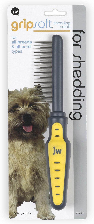 JW Pet Gripsoft Shedding Comb
