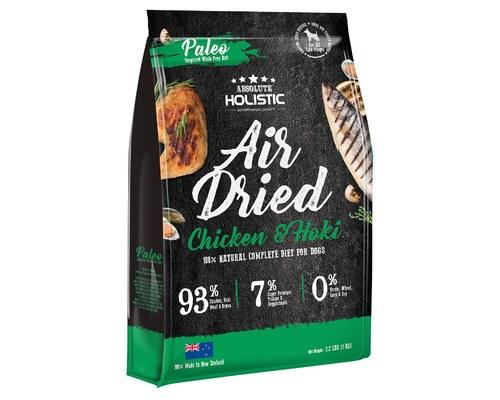 Absolute Holistic Air Dried Dog Food, Chicken & Hoki