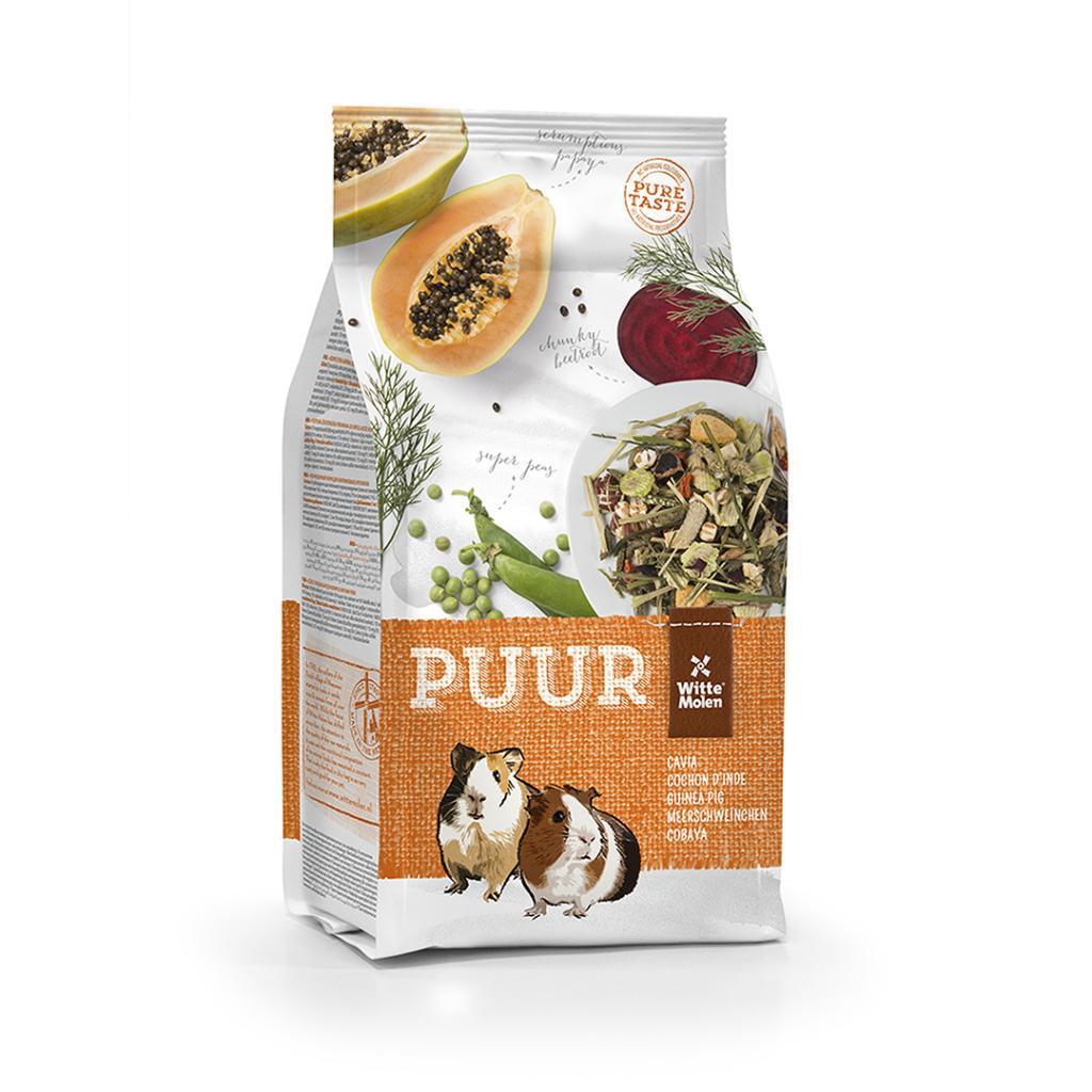 Witte Molen PUUR Gourmet Muesli Guinea Pig Food, 2.5-kg