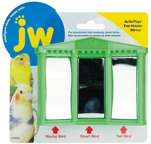 JW Pet Activitoy Birdie House of Mirrors Toy, Small/Medium Image