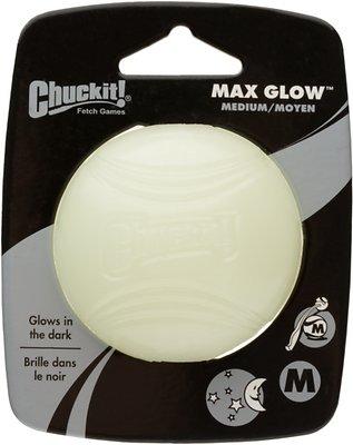 Chuckit! Max Glow Ball, Medium, 1 count