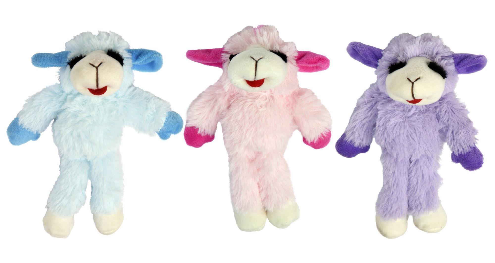Multipet Pet Envy Floppy Lamb Chop Dog Toy, Assorted Image