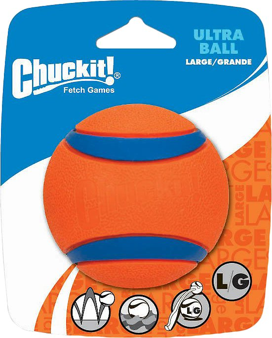 Chuckit! Ultra Rubber Ball Dog Toy Image