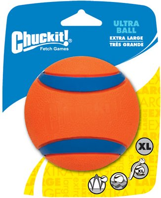 Chuckit! Ultra Rubber Ball Dog Toy, X-Large