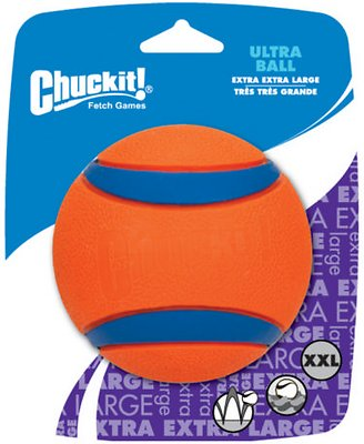 Chuckit! Ultra Rubber Ball Dog Toy, XX-Large