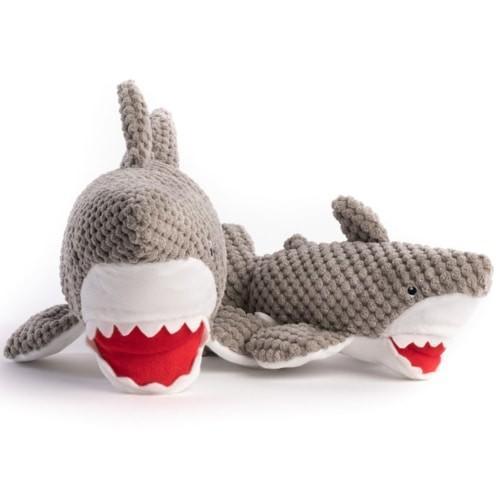 fabdog Floppy Plush Dog Toy, Shark, Small