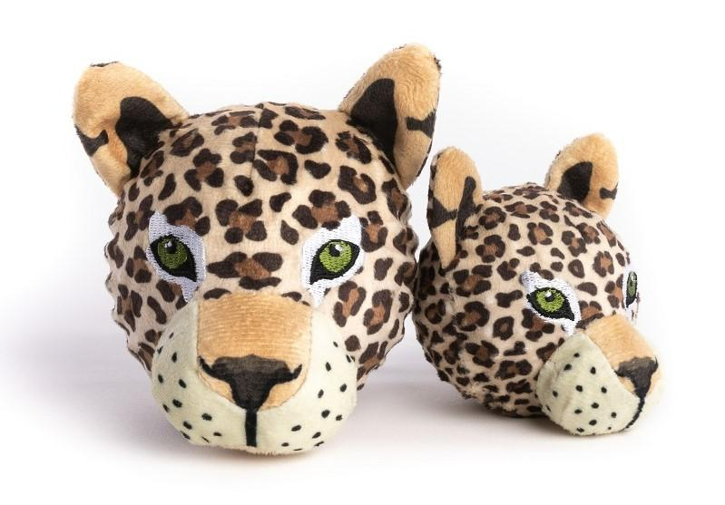 fabdog Faball Dog Toy, Leopard, Large